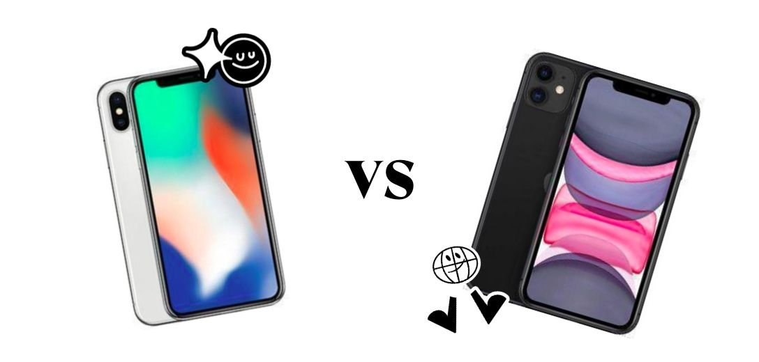 iPhone 11 vs X