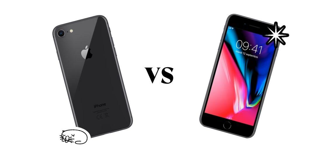 iPhone 8 vs SE