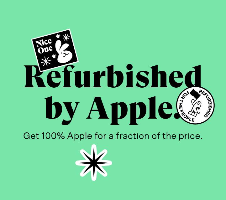 iPad refurbished by Apple