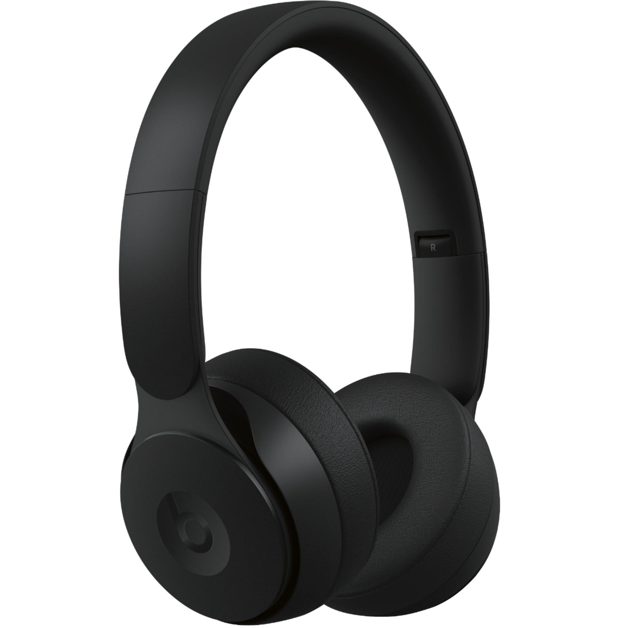Beats by Dr. Dre - Solo Pro Wireless Noise Cancelling On-Ear Headphones - Matte Black