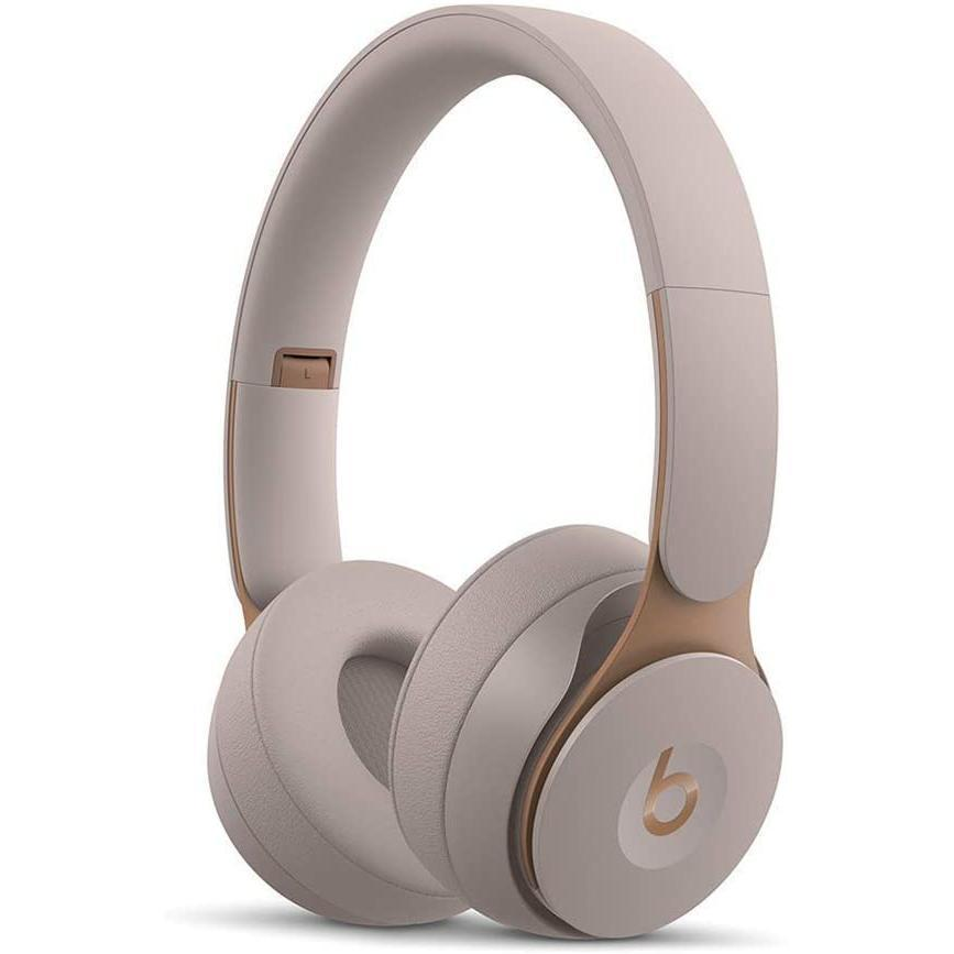 Beats By Dr. Dre Beats Solo Pro Wireless Noise cancelling Headphone Bluetooth with microphone - Gray