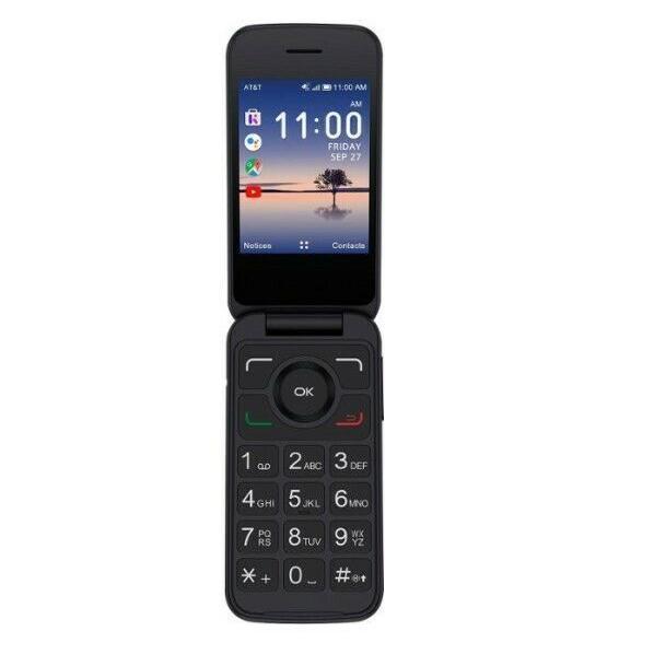 Alcatel SMARTFLIP 4052R - Black - AT&T