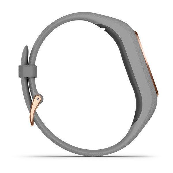 Garmin Smart Watch Vivosmart 4 HR GPS - Gray/Rose Gold