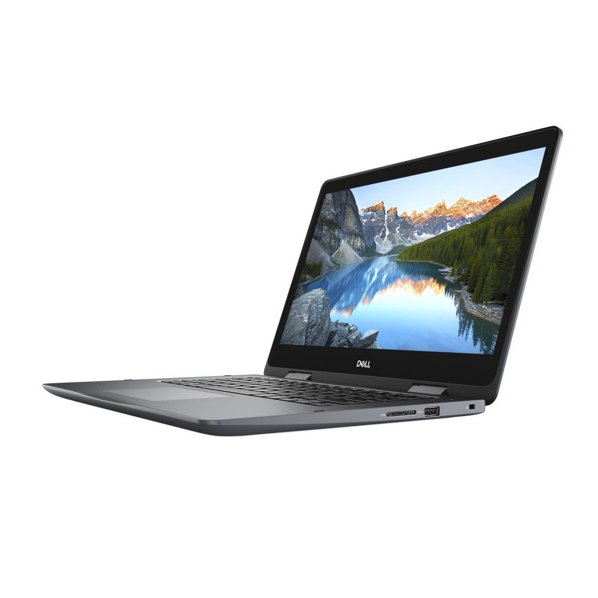 Dell Inspiron I5481-3236Gry-Pus 14-inch (2018) - Core i3-8145U - 4 GB - HDD 128 GB
