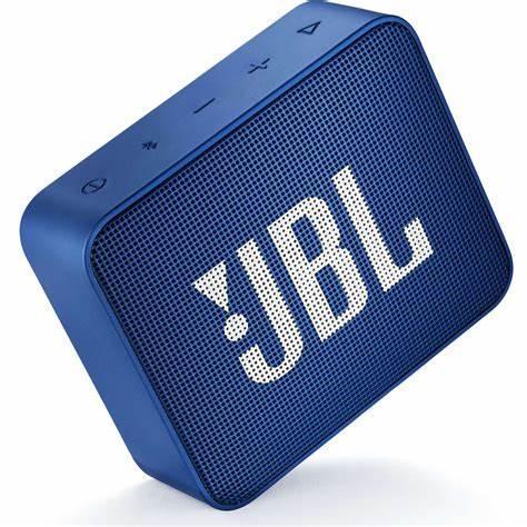 JBL Go 2 Bluetooth Speakers - Blue