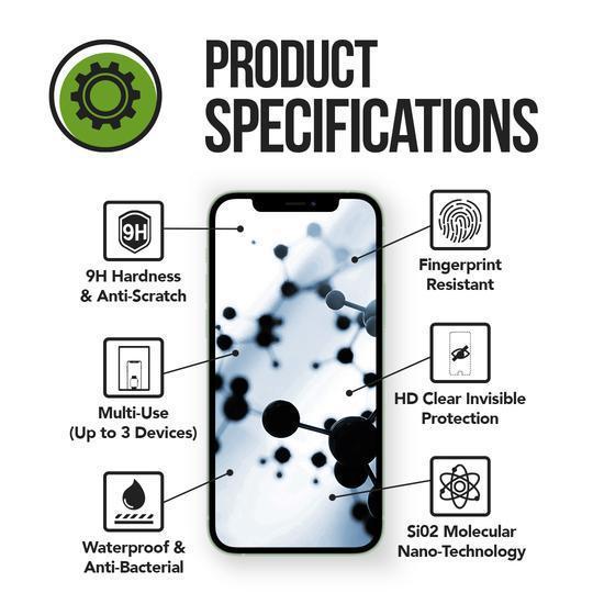 Protective screen - Nano liquid - Transparent