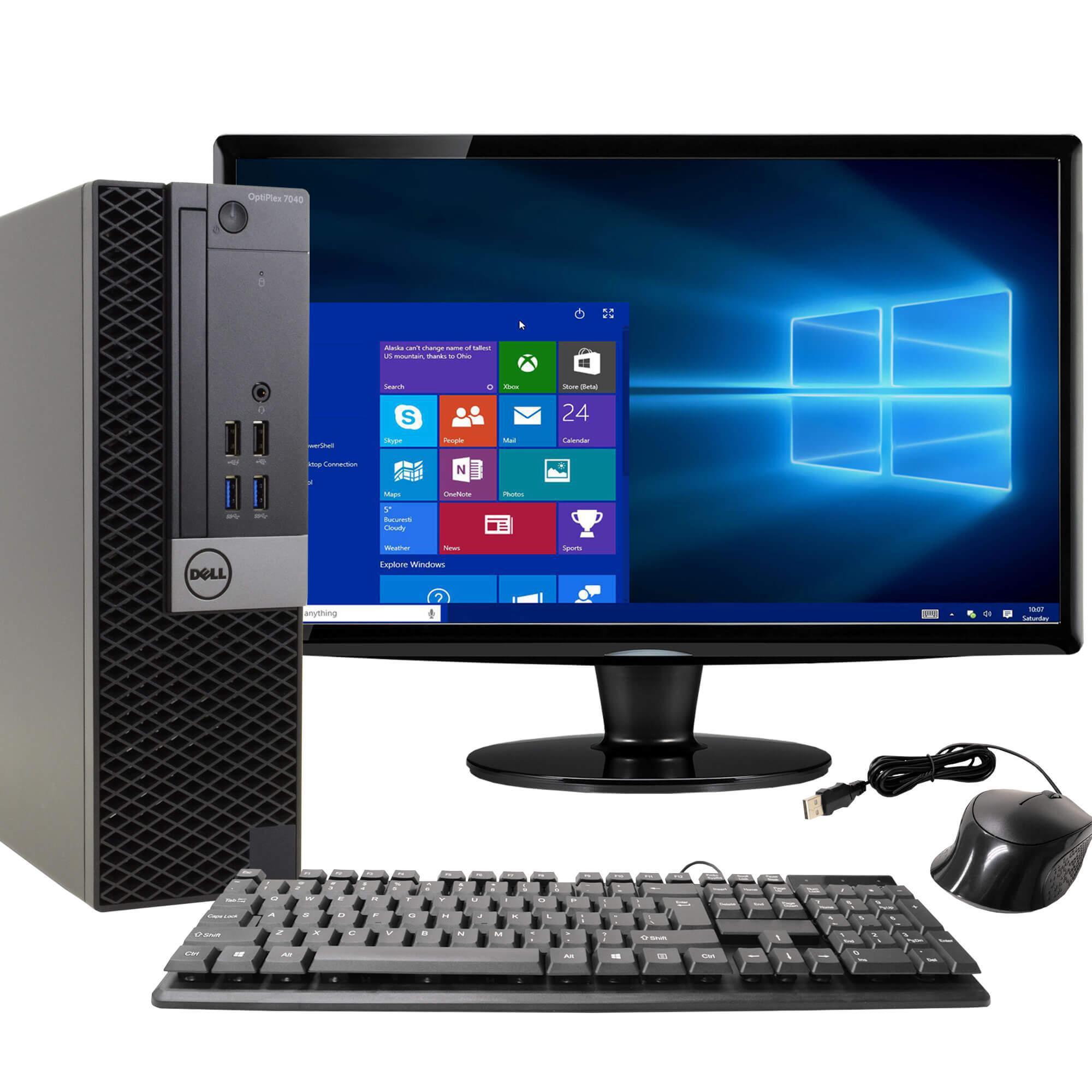 """Dell OptiPlex 7040 22"""" Core i5 3.2 GHz - SSD 512 GB - 16 GB"""