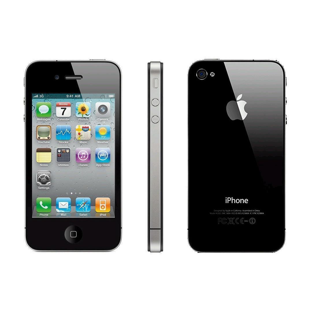 Refurbished iPhone 4 8GB - Black Unlocked | Back Market