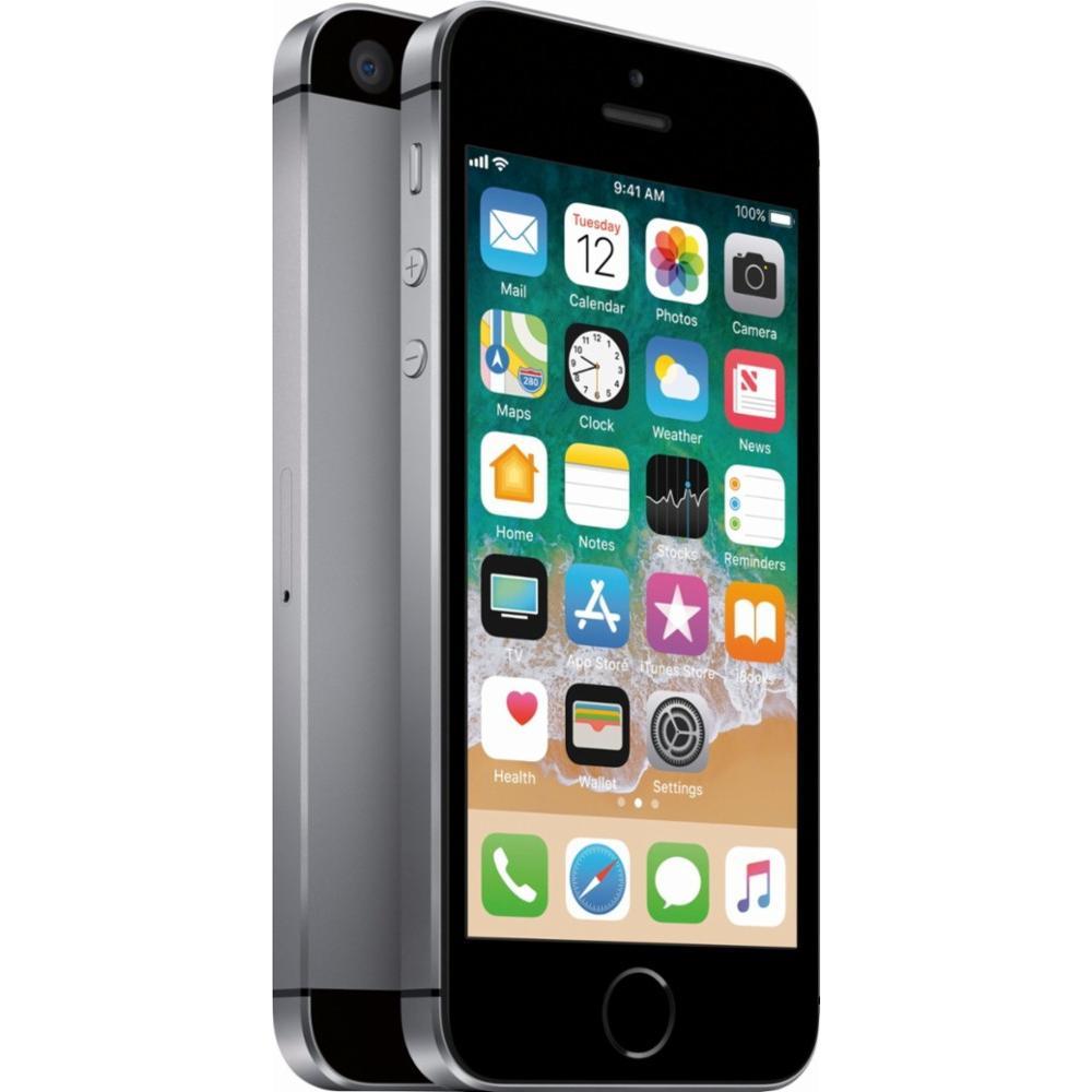 Refurbished iPhone SE 128GB Space Gray - Unlocked | Back ...