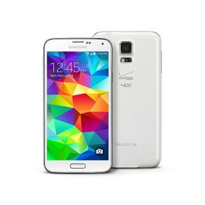 Galaxy S5 16GB - Shimmery White - Locked Verizon
