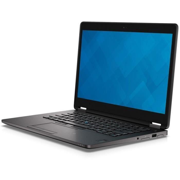 Dell Latitude E7470 14-inch (2017) - Core i7-6600U - 8 GB  - SSD 256 GB