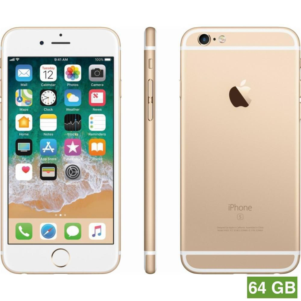 Reconditionner Iphone 6 64gb Gold Unlocked Gsm A1549