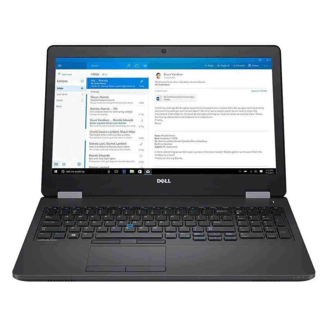 Dell Latitude E5570 15-inch (2016) - Core i5-6300U - 8 GB  - SSD 256 GB