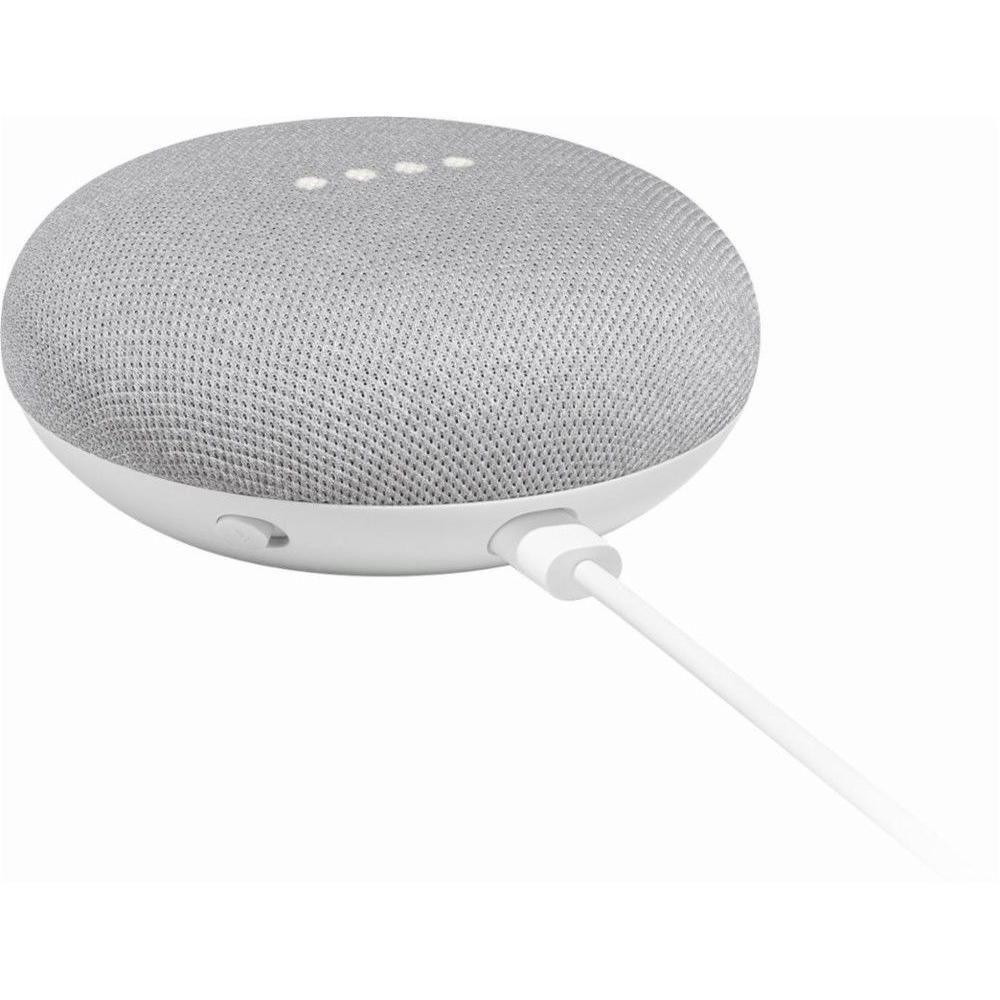 Speaker Google Home Mini  - Chalk Grey