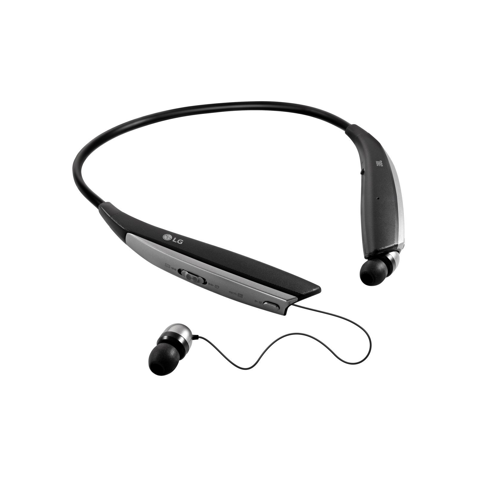 Lg Tone Ultra HBS-820 Headphone Bluetooth with microphone - Black