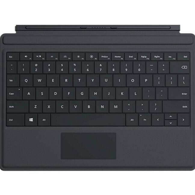 Microsoft Type Cover Keyboard for Surface 3 Qwerty - Black