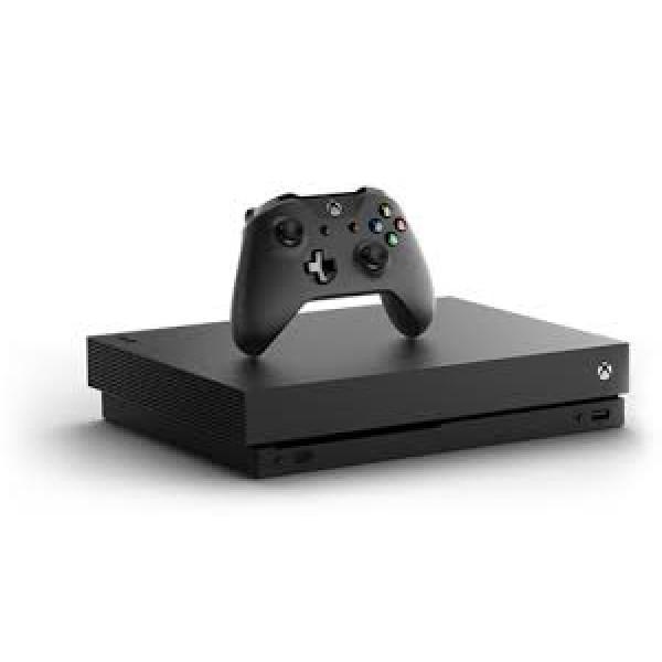 Xbox One X - HDD 1 TB - Black