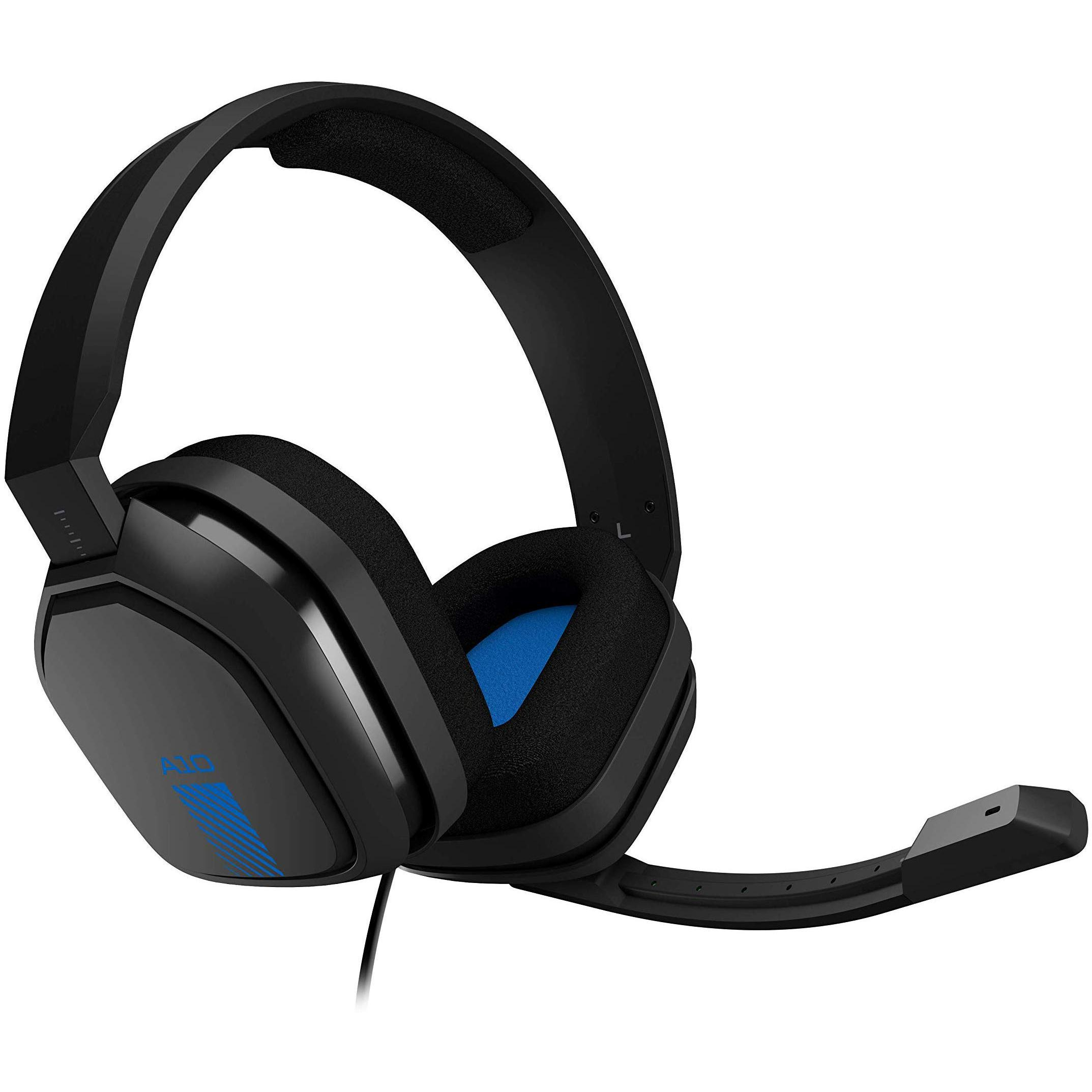 Logitech Astro A10 Noise cancelling Gaming Headphone with microphone - Gray/Blue