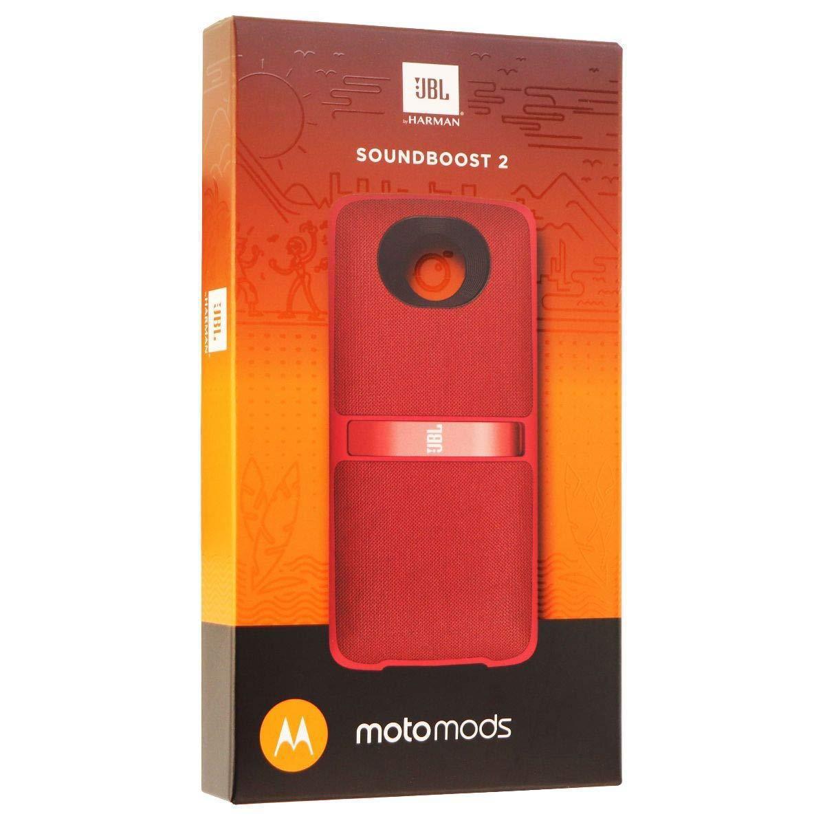 Speaker Wireless JBL SoundBoost 2 - Red