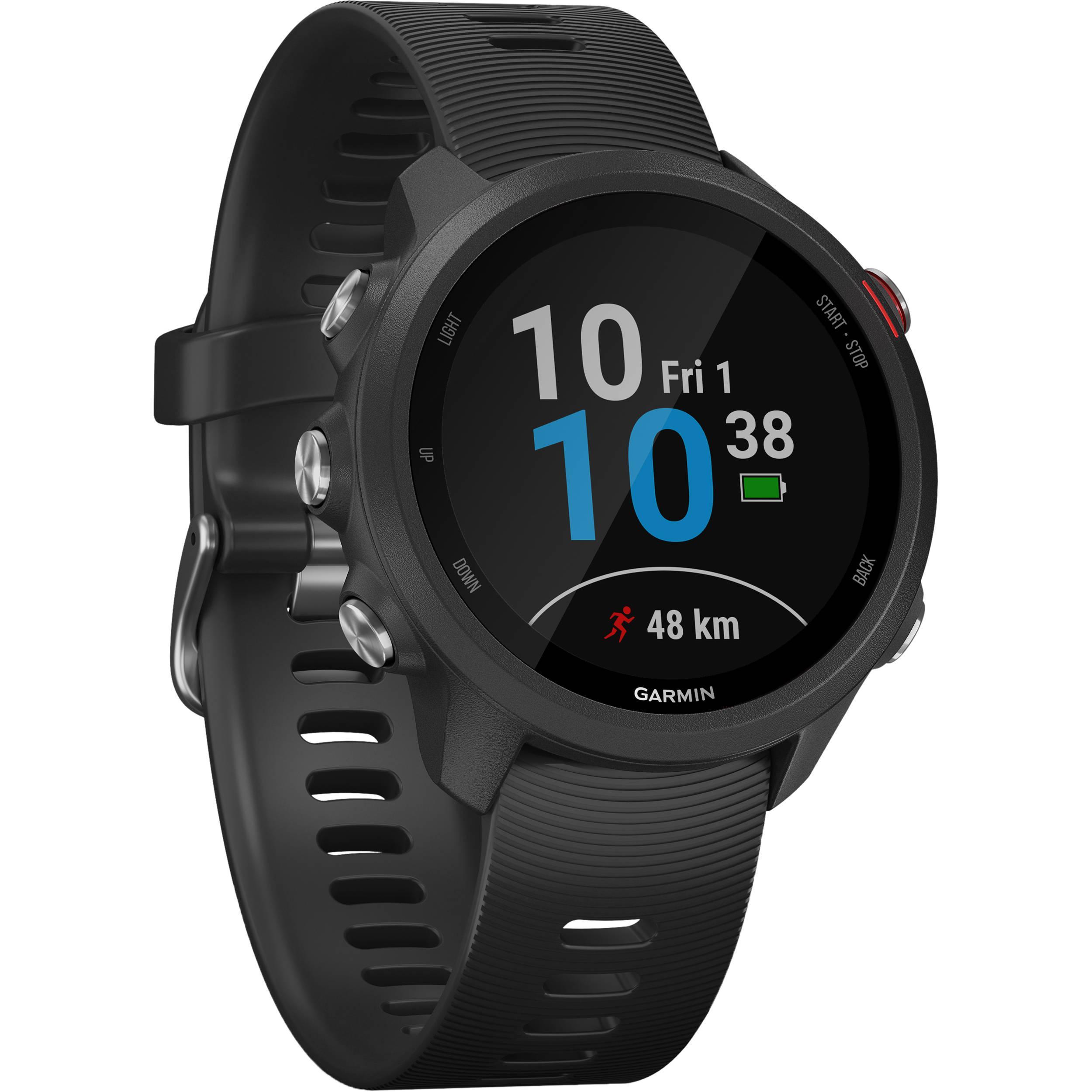 Garmin Smart Watch Forerunner 245 Music HR GPS - Black