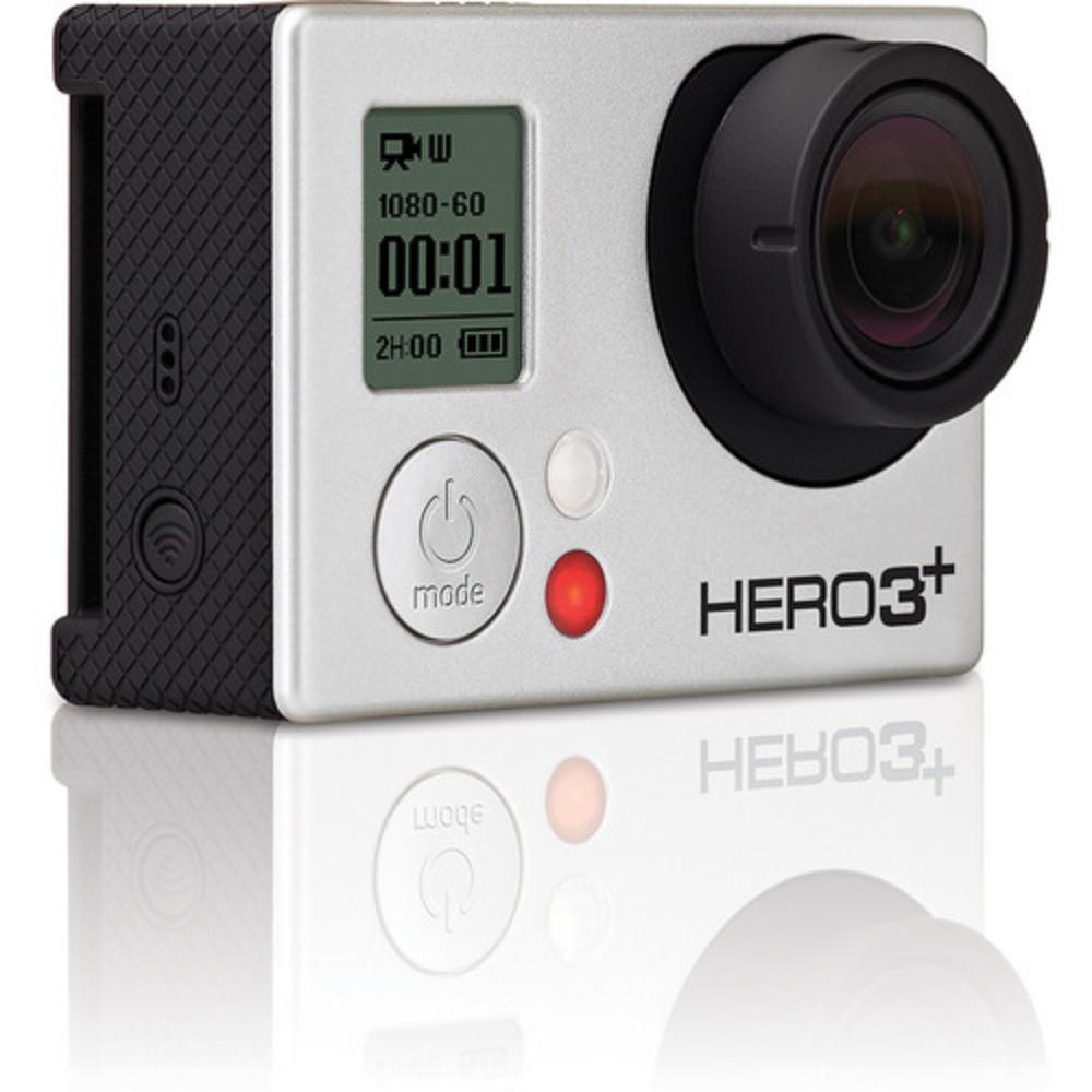 GoPro Hero3+ Black Edition - Silver - Waterproof Digital Action Camera