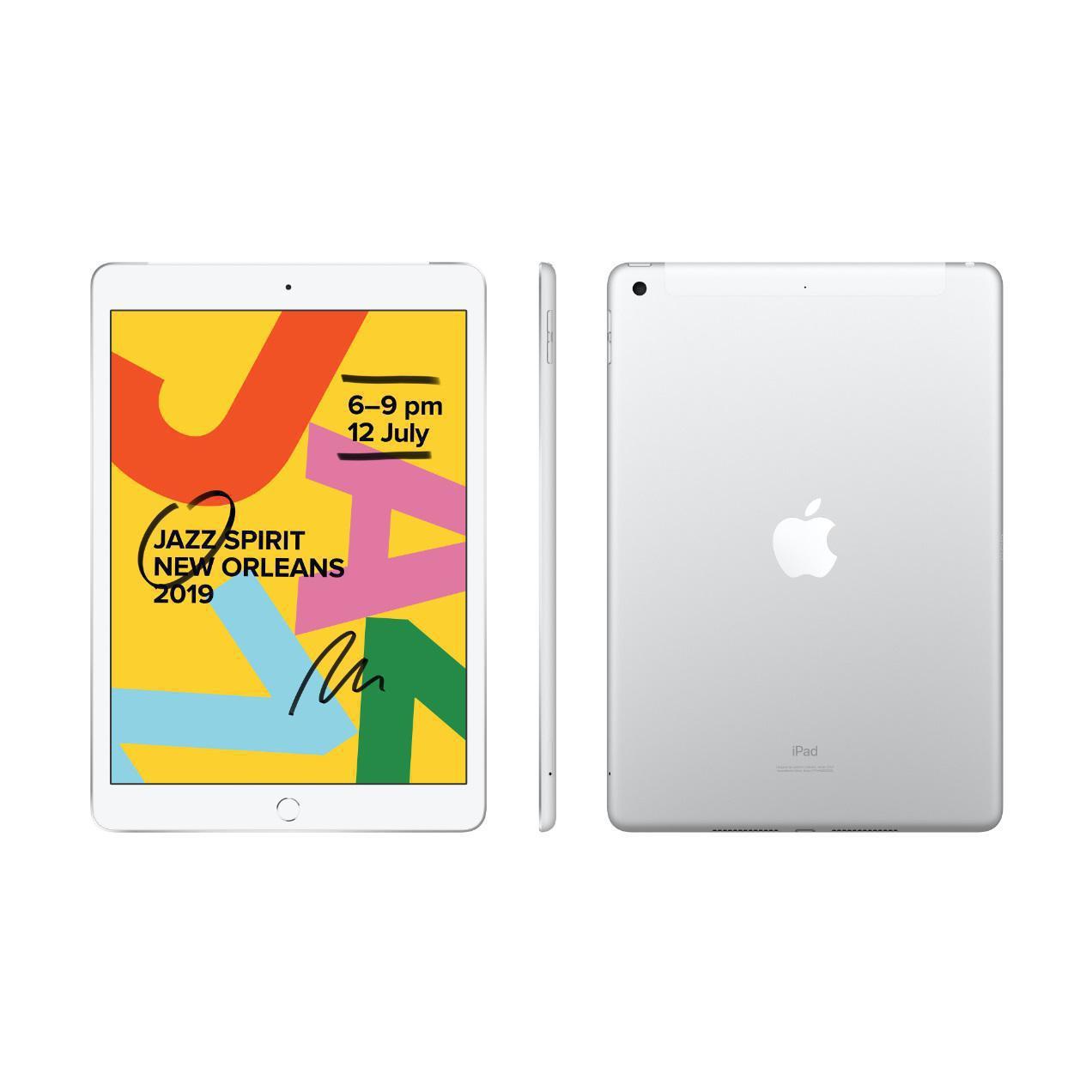 iPad 10.2-inch 7th Gen (2019) - Wi-Fi + GSM/CDMA + LTE