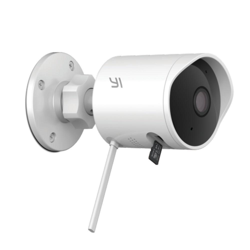 YI Outdoor Camera - 1080p - White