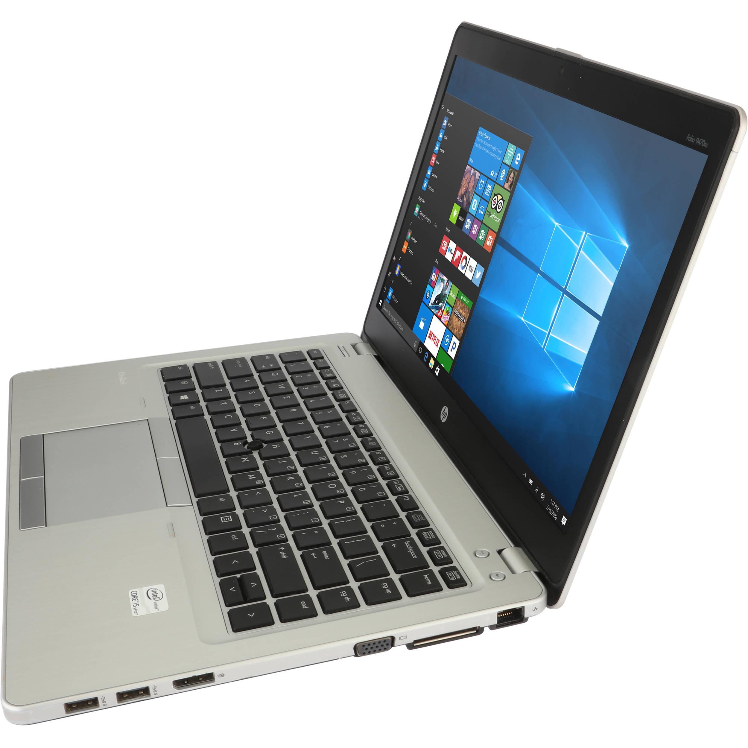 Hp Elitebook Folio 9470M 14-inch (2012) - Core i5-3427U - 8 GB  - SSD 240 GB