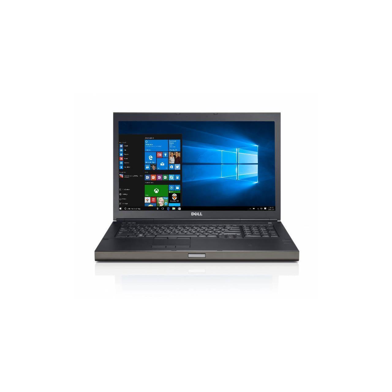 Dell Precision M6800 17.3-inch (2015) - Core i7-4810MQ - 8 GB  - SSD 256 GB