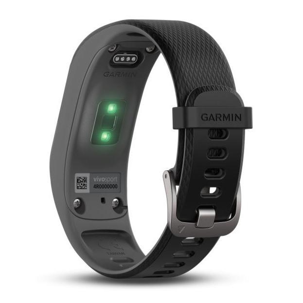 Connected Bracelet Garmin vivosport - Black/Gray - Small