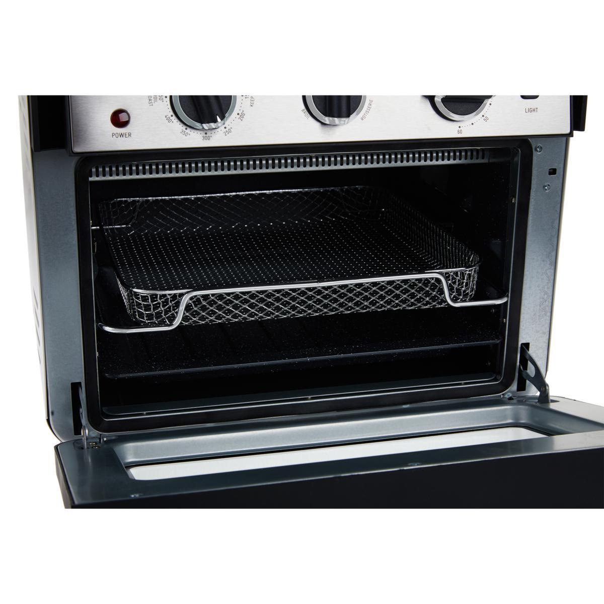 Mini Oven/Air Fryer Curtis Stone Dura-Electric 679-725 - Black/Silver
