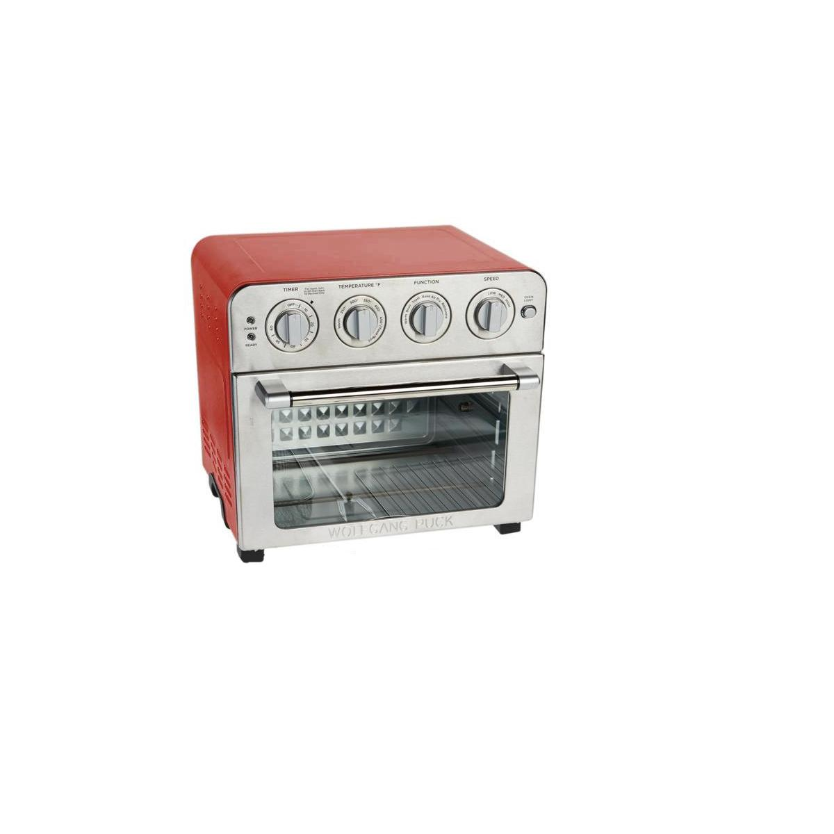 Mini Oven/Air Fryer Wolfgang Puck 669-175 - Red/Silver