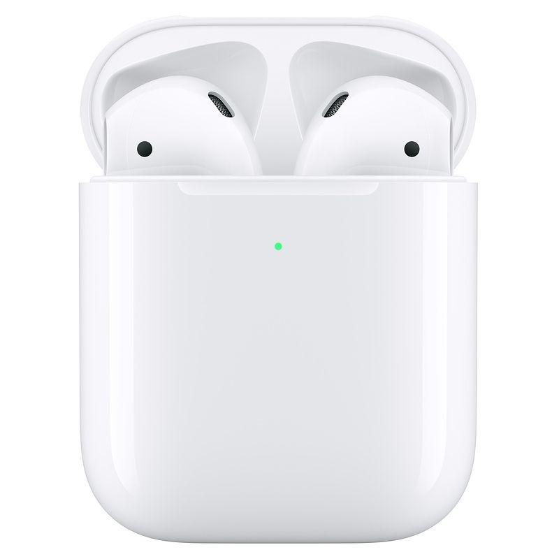 Apple AirPods (2nd gen) with Wireless Charging Case - White