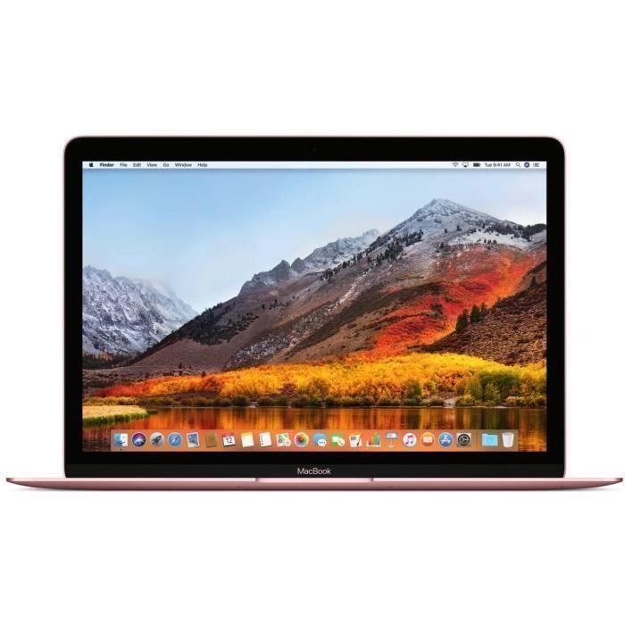 MacBook Retina 12-inch (2017) - Core m3 - 8GB - SSD 512 GB