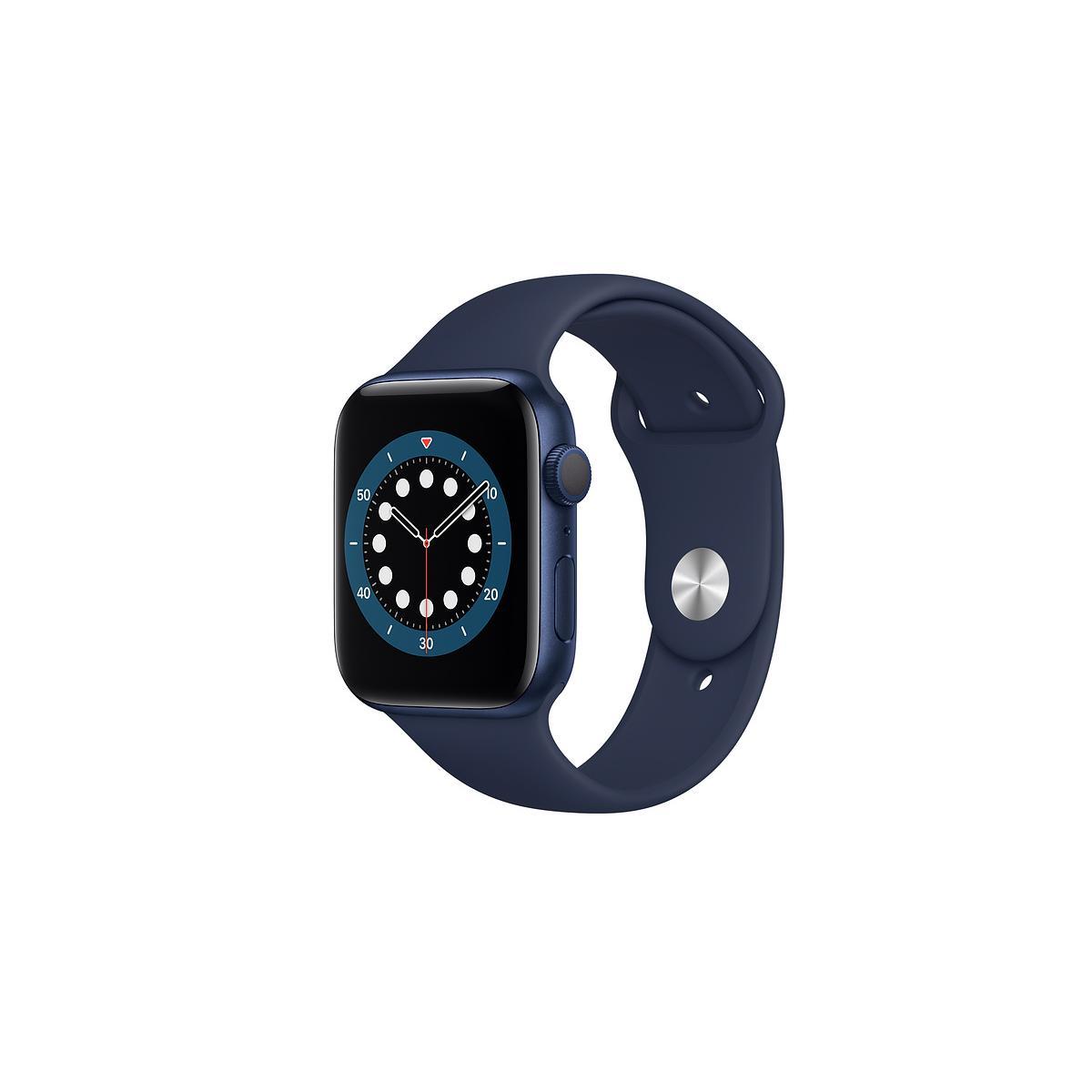 Apple Watch (Series 6) September 2020 40 mm - Aluminium Blue - Sport Band Blue