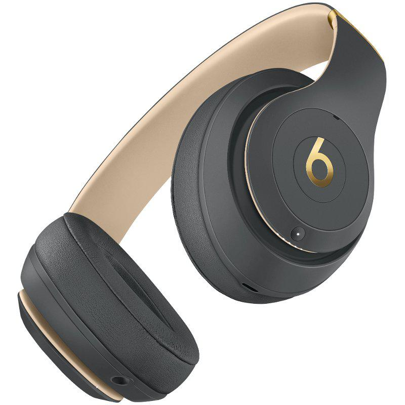 Beats Studio3 Noise cancelling Headphone Bluetooth with microphone - Gray