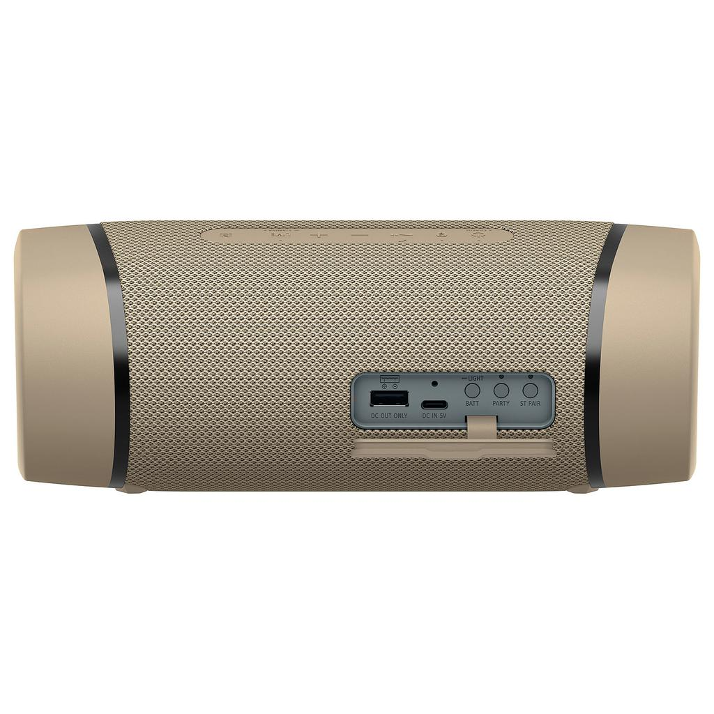 Sony SRS-XB33 Bluetooth Speakers - Taupe