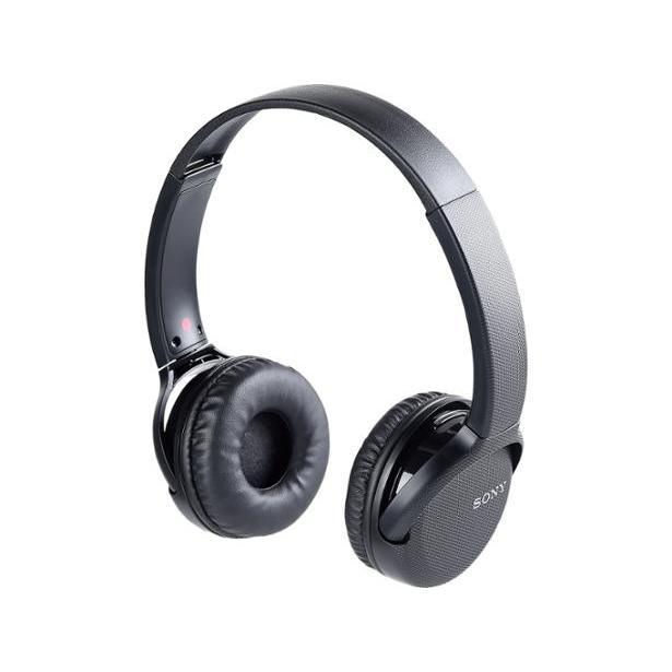 Sony WHCH510/BZ Headphone Bluetooth with microphone - Black