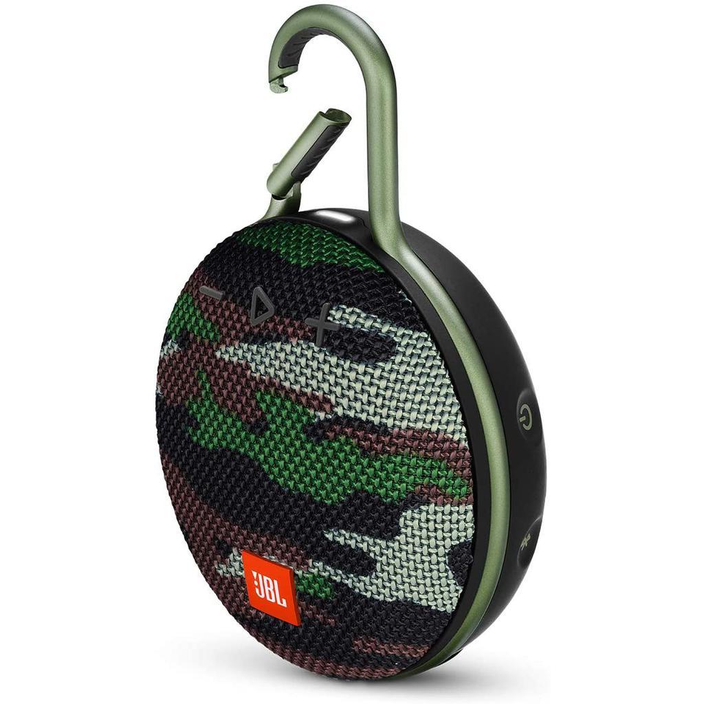 JBL Clip 3 Bluetooth Speakers - Squad