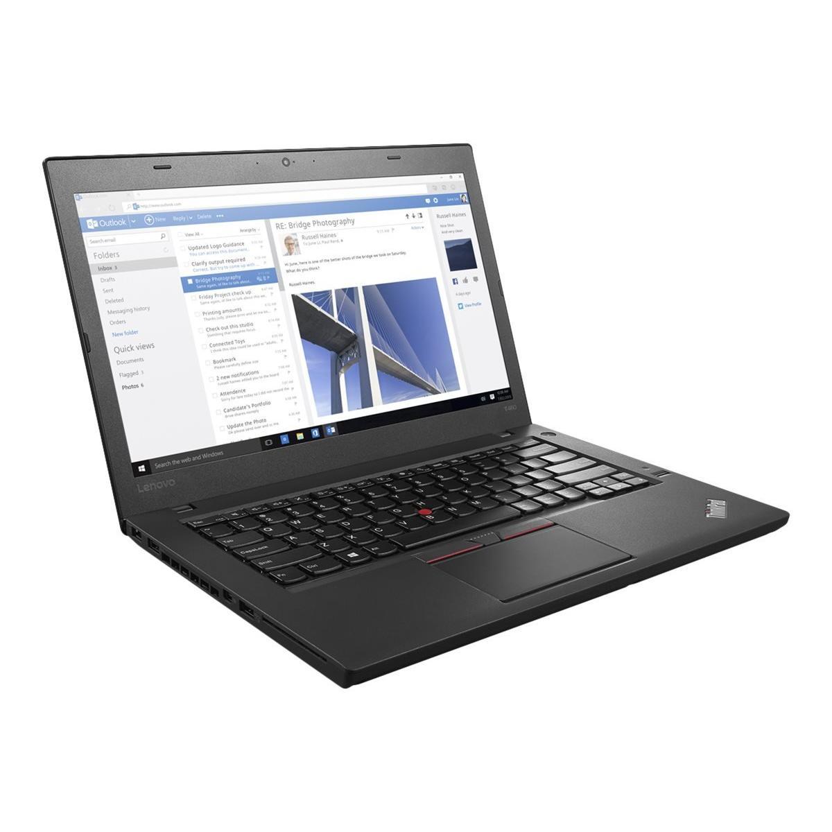 Lenovo Thinkpad T460 14-inch (2015) - Core i5-6300U - 8 GB  - SSD 180 GB