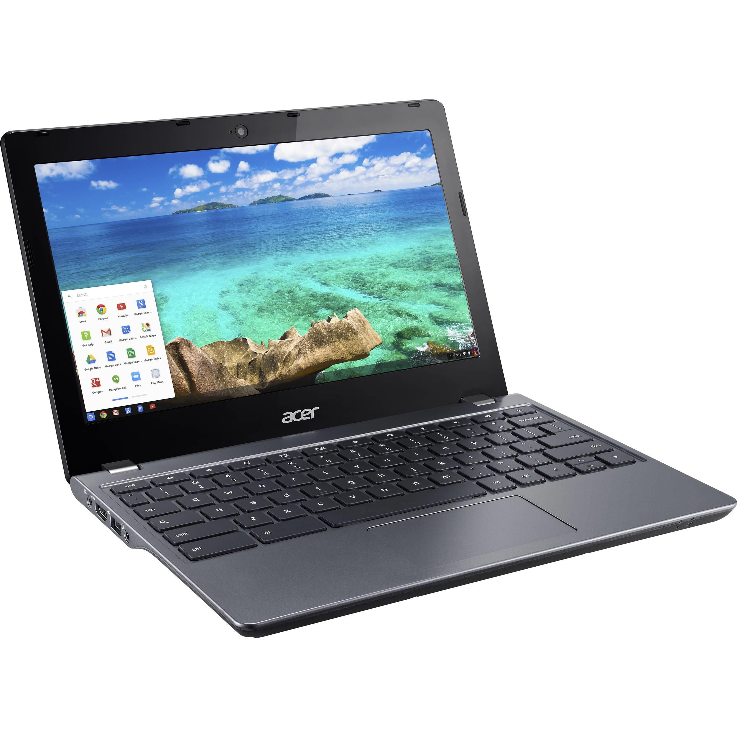 Acer Chromebook 11 C740-C3P1 NX.EF2AA.001 11.6-inch (2014) - Celeron 3205U - 2 GB - SSD 16 GB
