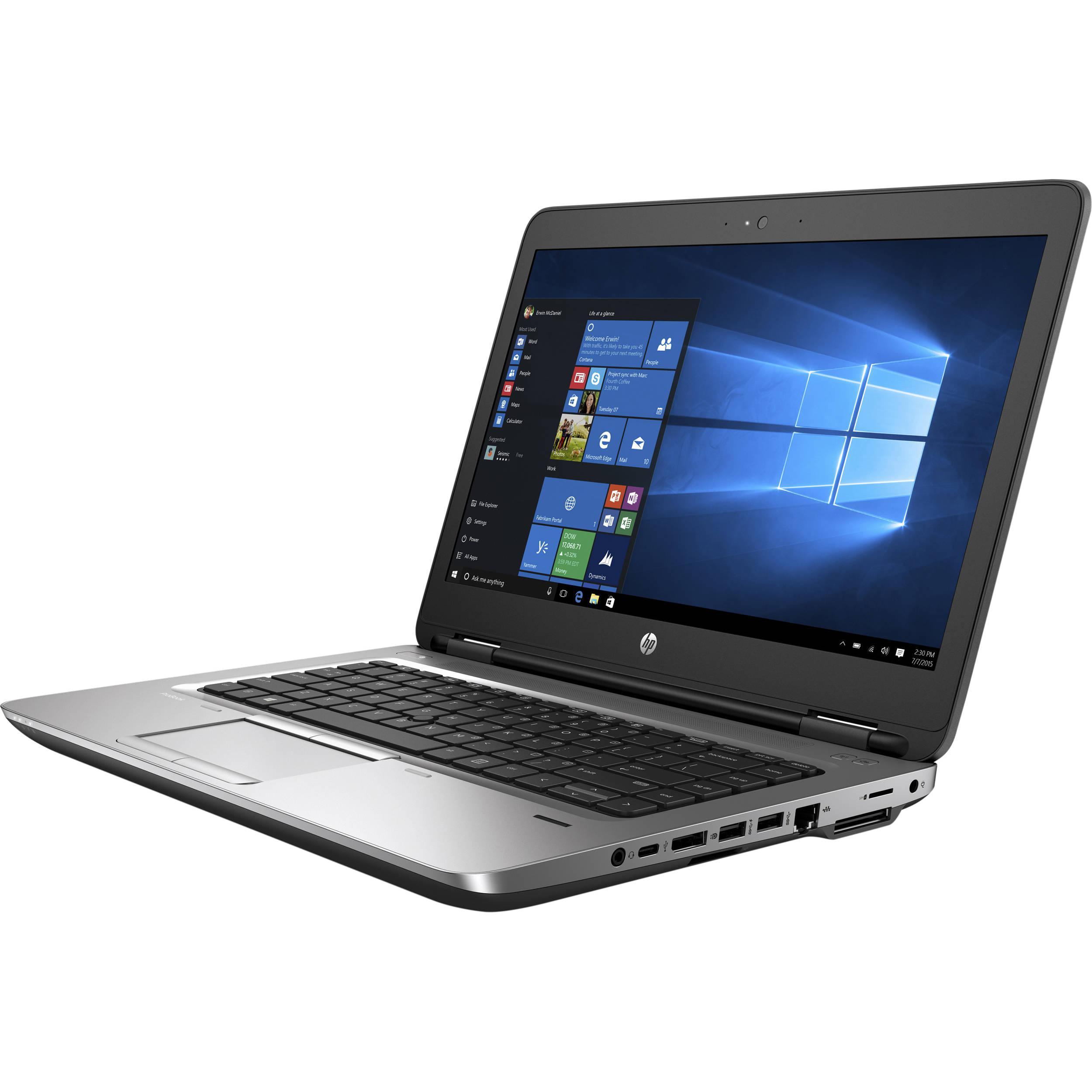 Hp ProBook 640 G2 14-inch (2016) - Core i5-6300U - 16 GB - SSD 512 GB