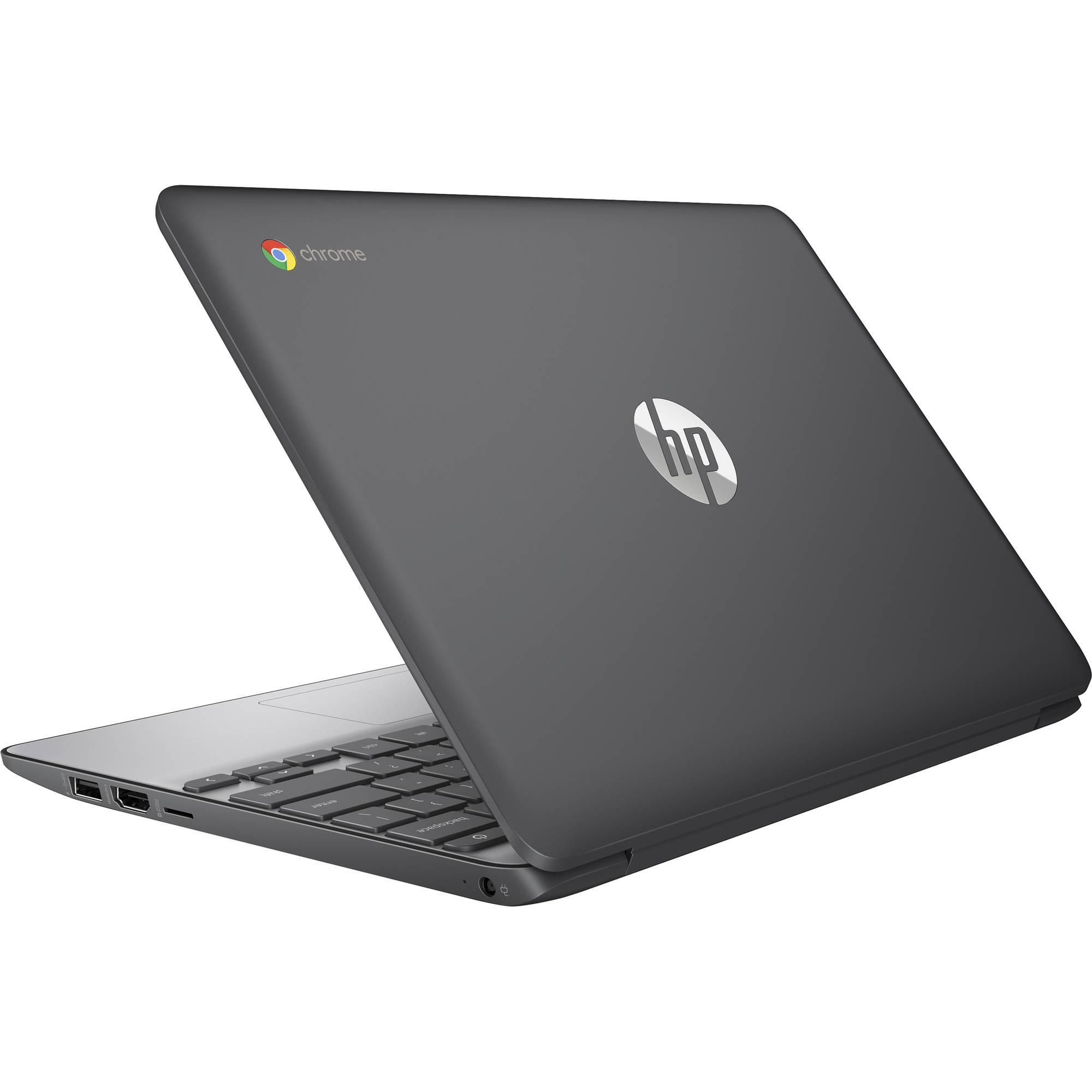 HP ChromeBook 11-V010NR Celeron N3060 1.6 GHz - SSD 16 GB - 4 GB