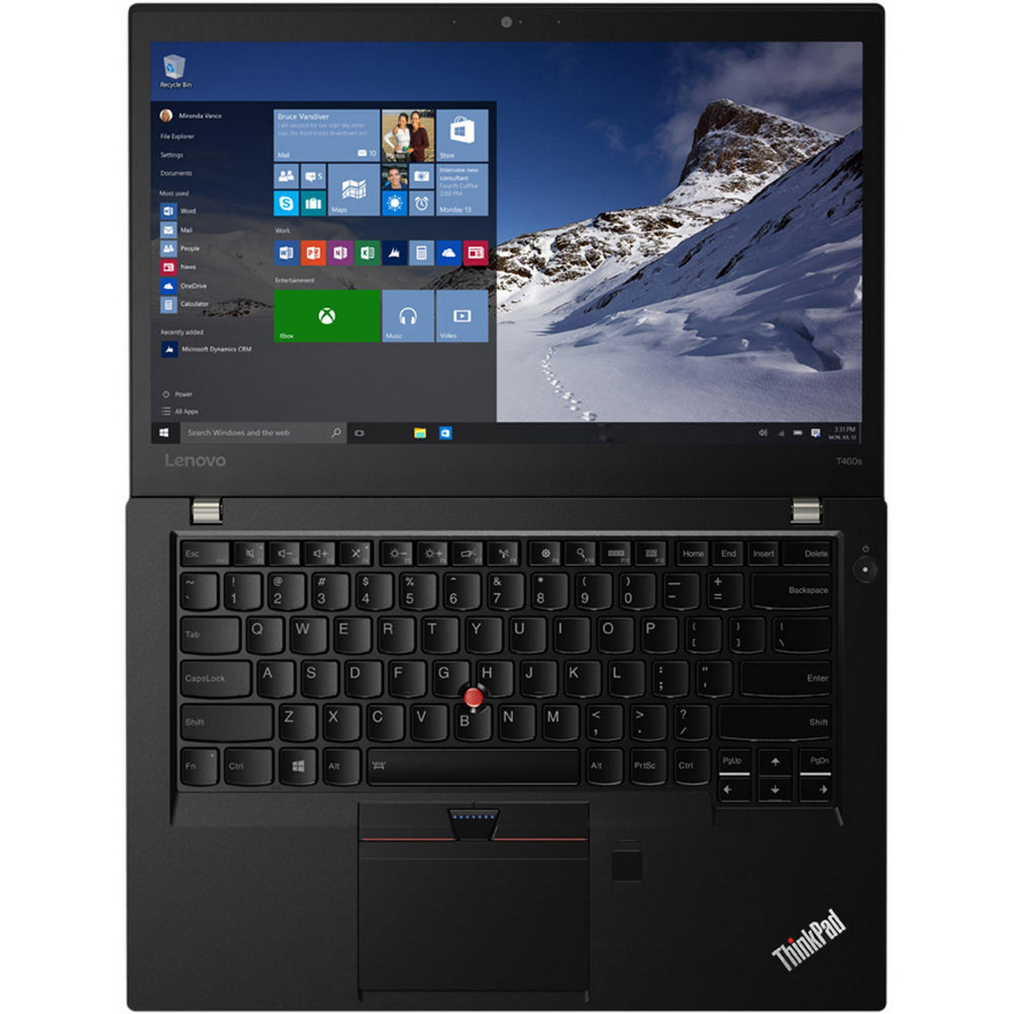 Lenovo ThinkPad T460S 14-inch (2016) - Core i5-6300U - 8 GB - SSD 256 GB