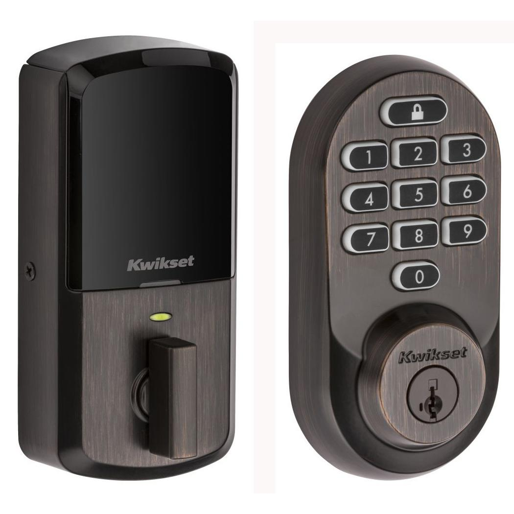 Connected objects Kwikset 99380-002 Halo Wi-Fi Smart Lock - Venetian Bronze