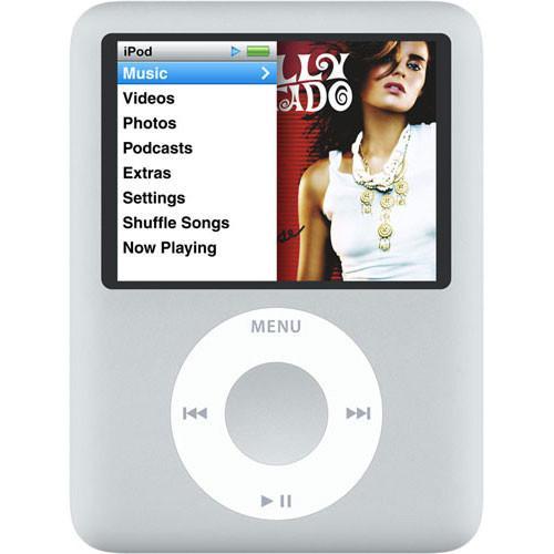 iPod Nano 3 4GB - Silver