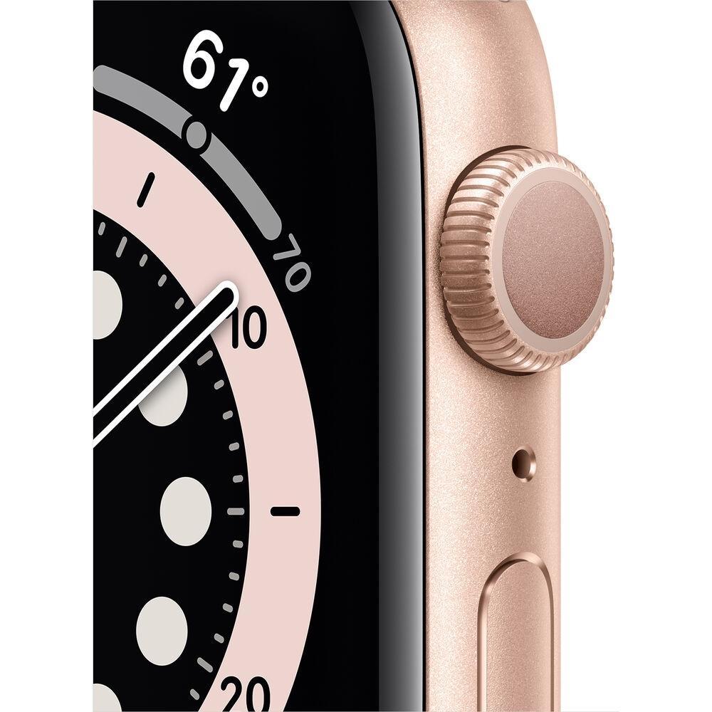 Apple Watch (Series 6) 44 mm - Aluminum Gold - Sport Pink