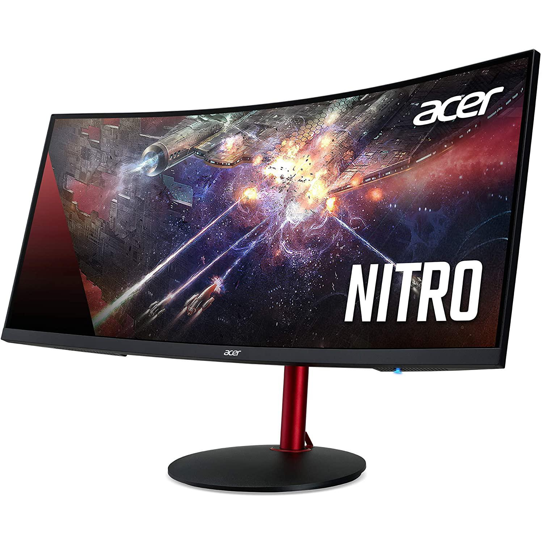 Acer 34-inch Monitor 3440 x 1440 LCD (XZ342CK Pbmiiphx)