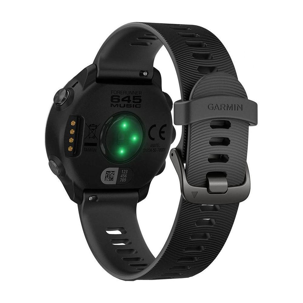 Garmin Smart Watch Forerunner 645 HR GPS - Stainless steel