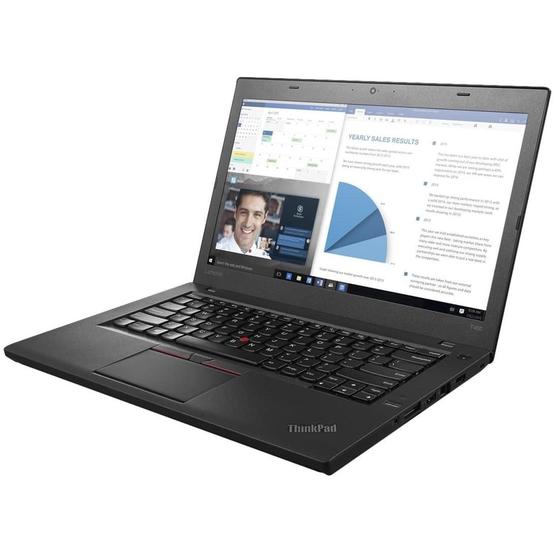 Lenovo ThinkPad T460 14-inch (2016) - Core i7-6600U - 8 GB - SSD 256 GB